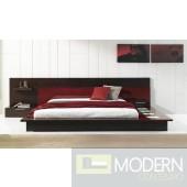 Modrest Rimini Contemporary Walk-On Platform Bed