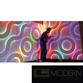LED LIT 3D PANEL A3