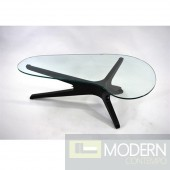 Sculpt Coffee Table, Black
