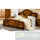 Modrest Serena Walnut Traditional Italian Bed