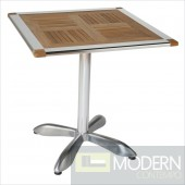 Sheldon Teak & Aluminum Table