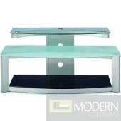 "Modern Frosted Glass V-Hold 402 52"" TV Stand"
