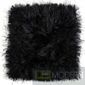 Modrest Sitka Modern Black Small Area Rug