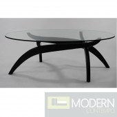 Spider Coffee Table, Black