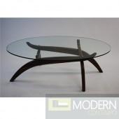 Spider Coffee Table, Walnut