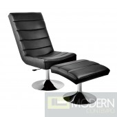 Palermo Lounge Chair and Ottoman