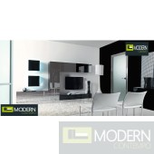 Suzanne Modern Contemporary Wall Unit  MC895