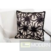 Modrest Supernova Black and White Throw Pillow