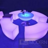 Glowing LED Chair  furniture MCYK-1243-1 Set