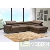 Tamani Leather Sectional Sofa