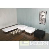 Tessa - Modern Ottoman & Sofa Bed