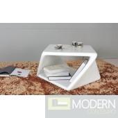 2 Modrest TG-1151ET White End Table