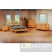 Tilbury Twin Bed in Natural
