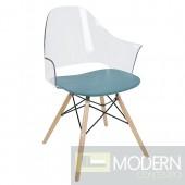 Tunic Flair Acrylic Chair (set of 2)