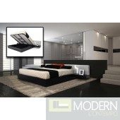 Modrest Torino - Modern Platform Bed with Storage