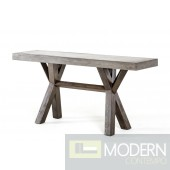 Modrest Urban Concrete Console Table
