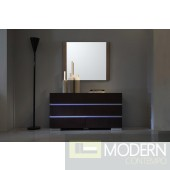 Modrest Anzio Modern Oak Wall Mirror