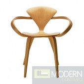 Wooden Arm Chair, Natural