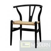 Woodstring Dining Chair, Black