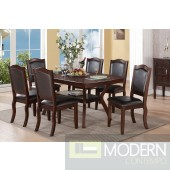 5Pc Traditional Espresso Polished Wood Formal dining table Set. MCGSD229058/38 Free 24 to 3 days Free inside Delivery  in DMV metro area.