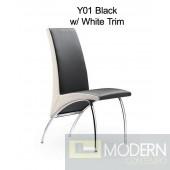 Modrest Y01 Black & White Chair