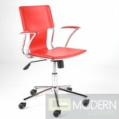 TERRY OFFICE CHAIR RED