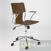 TERRY OFFICE CHAIR BROWN