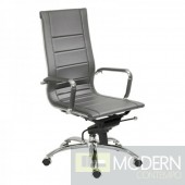 OWEN HIGH BACK OFFICE CHAIR GREY