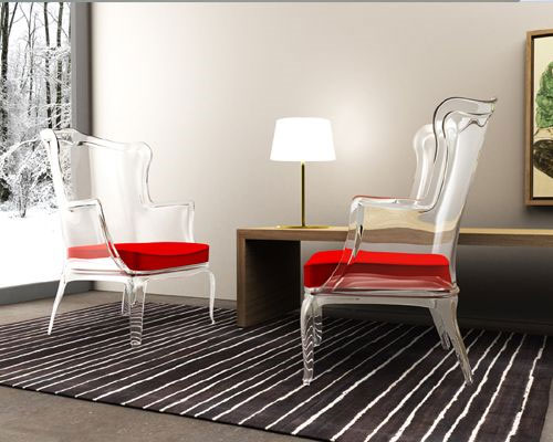 Pasha Chair Is Made Of Polycarbonate With Glossy Finish. Thanks Of It, The  Extraordinary Material Make The Chair Looks Elegant And Stylish.