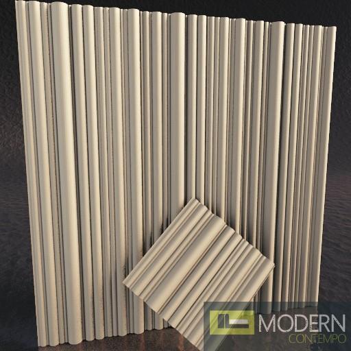 3d gypsum wall panels