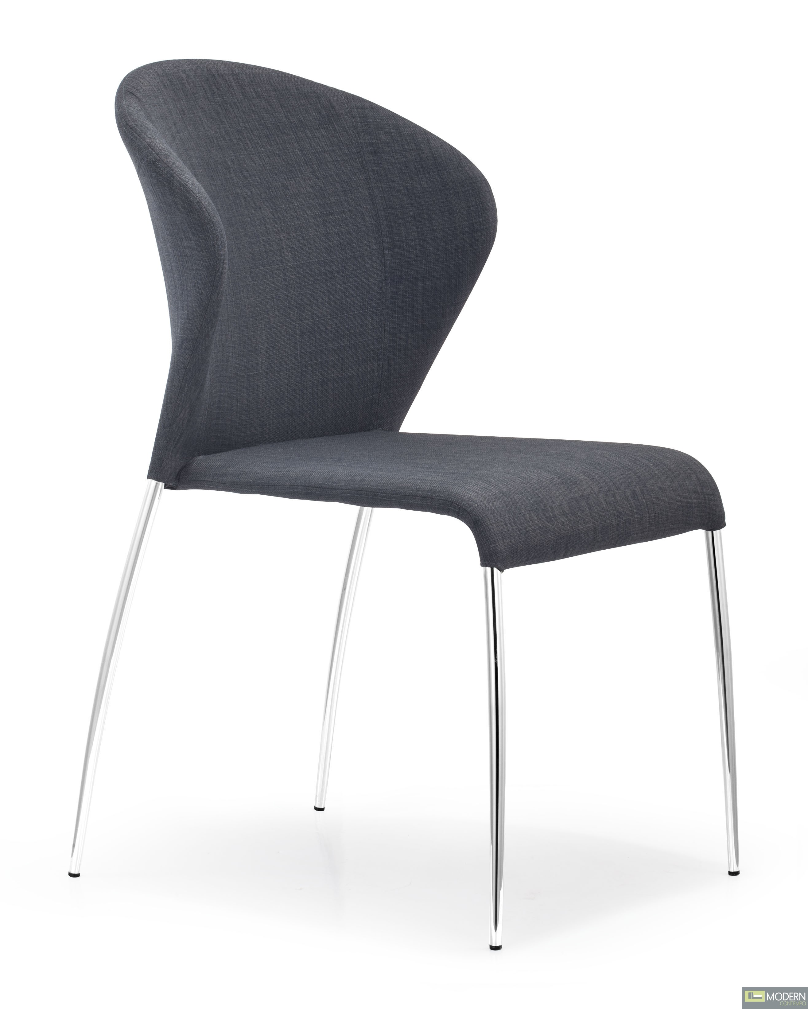 Oulu Chair Graphite Fabric - Set of 4