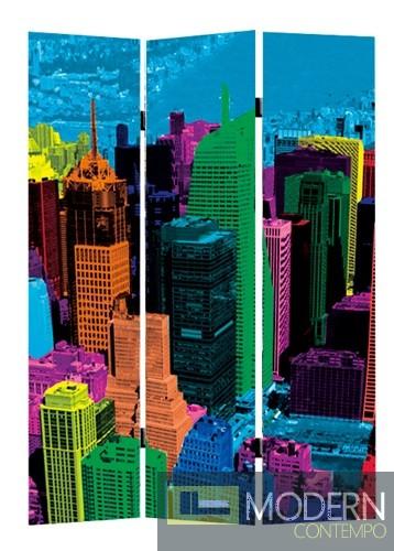 Cityscape Folding 124,30,81 Multicolor