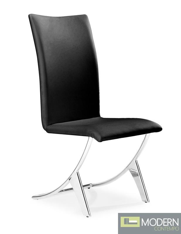 Delfin Dining Chair Black