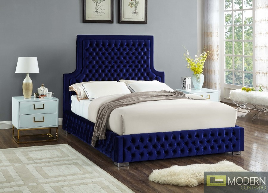 Angelique Velvet Bed