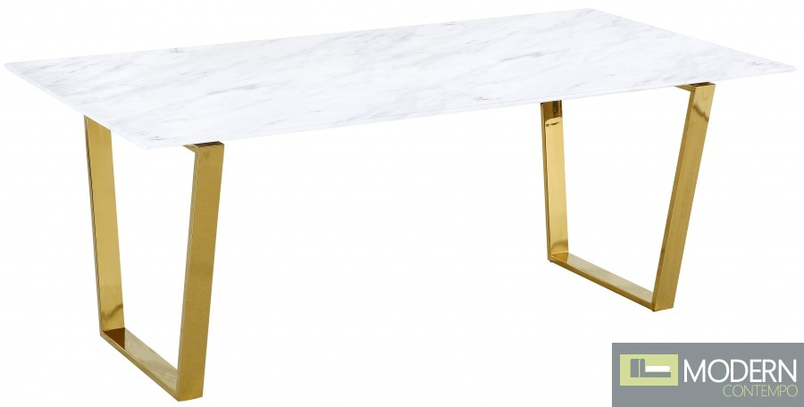 Alpha Gold Dining Table