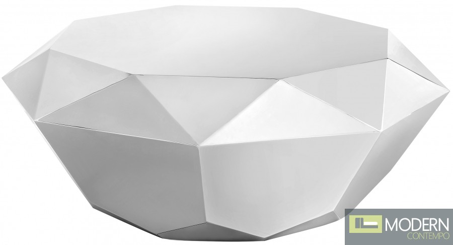 Gem Coffee Table Silver