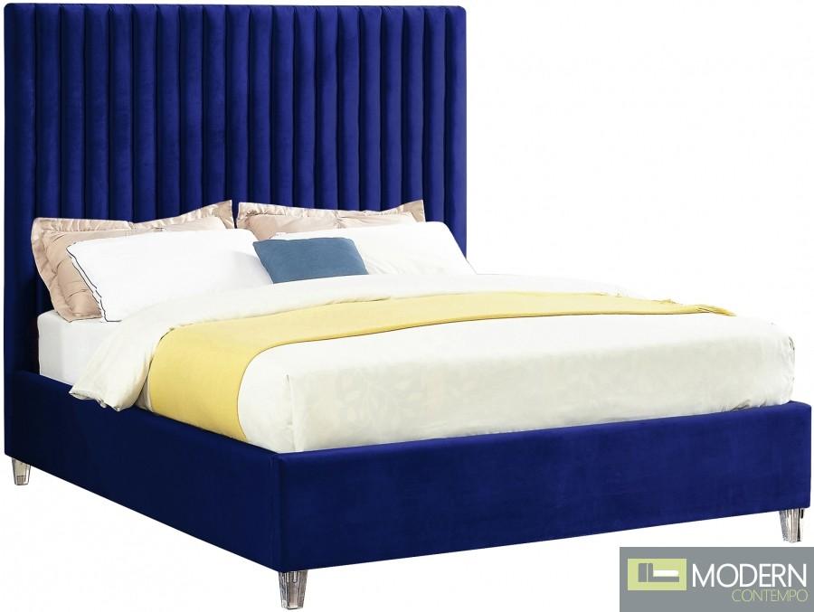 Lily Velvet Bed
