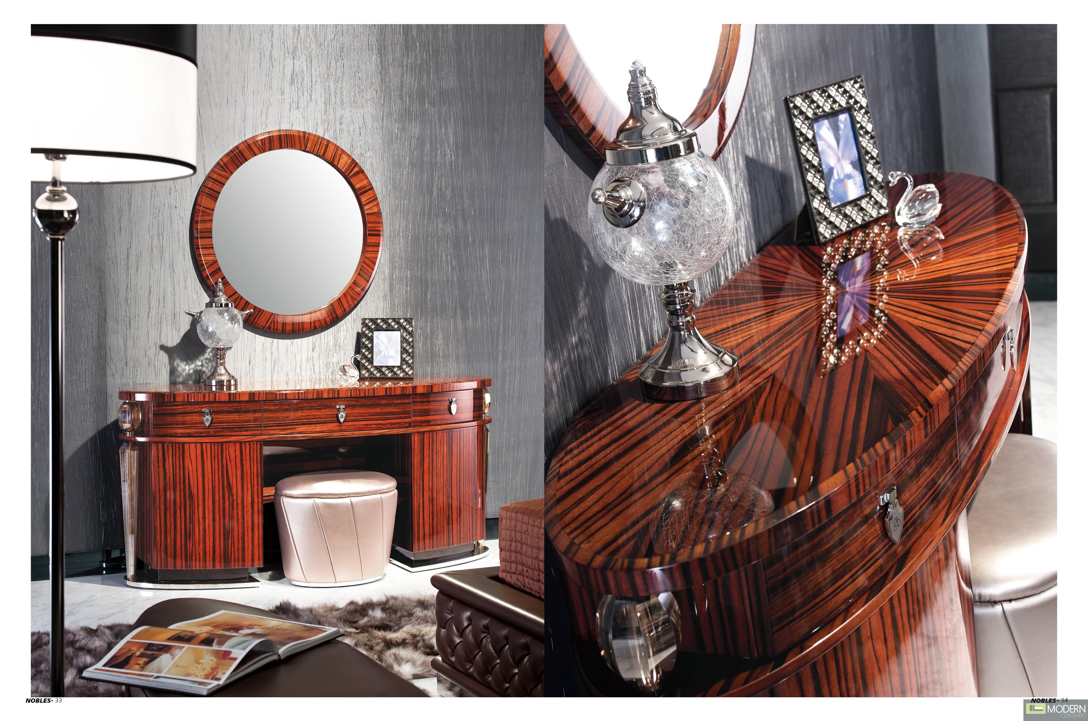 Ravello Mirror & Dresser Set