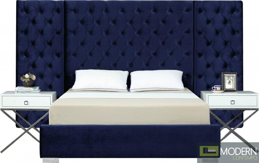 Georgia Velvet Bed