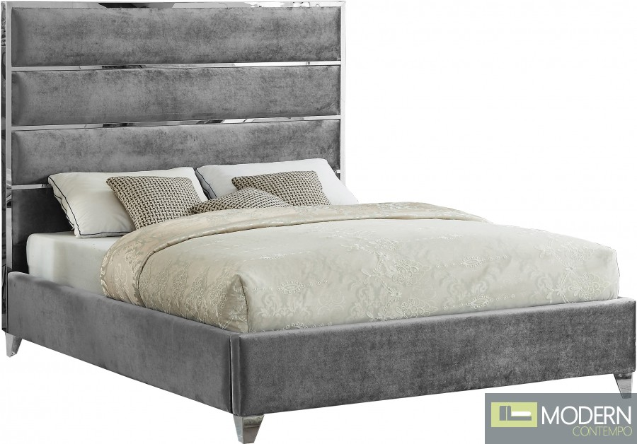 Adonis Velvet Bed