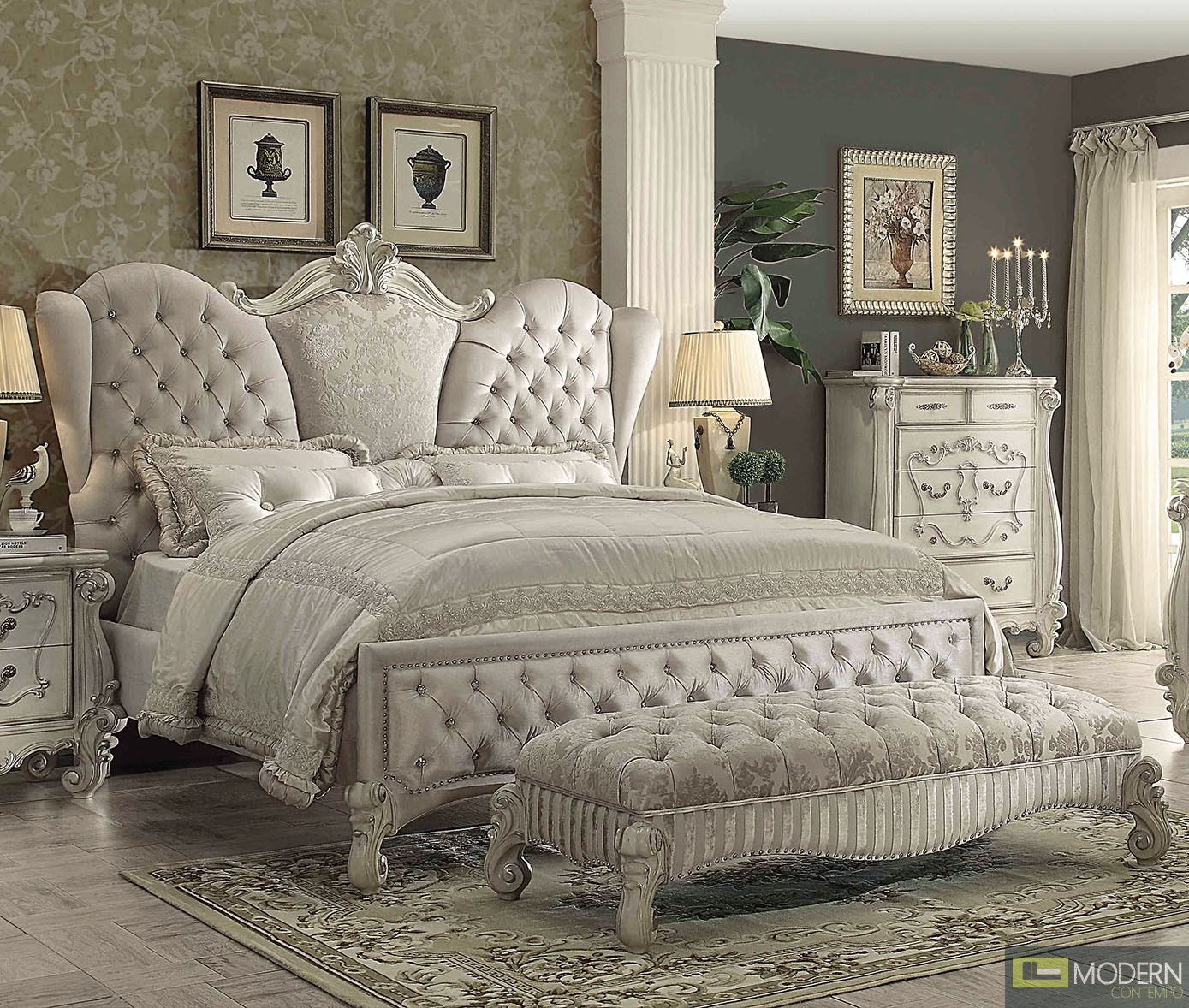 victorian Traditional Bedroom Set MCACB21130