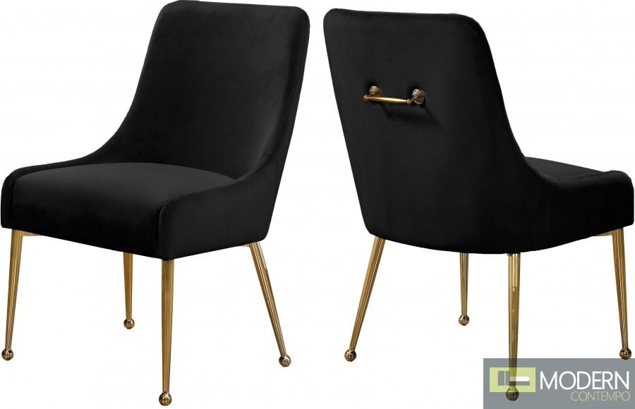 Elegante Velvet Dining chair - Set of 2