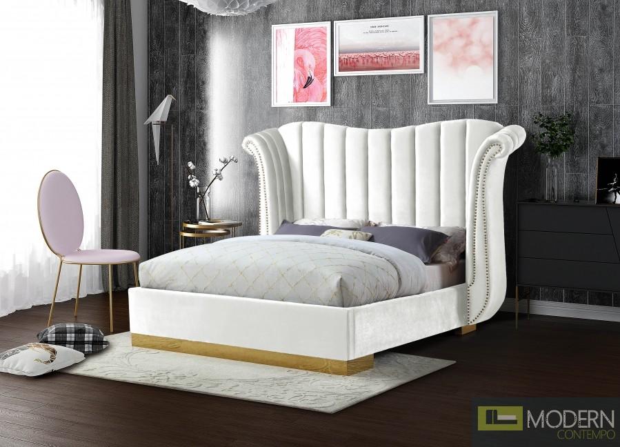 Florence Velvet Bed