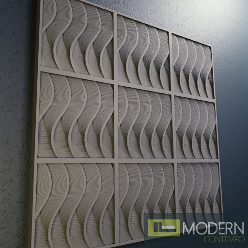 3D SURFACE WALL PANEL MDF-3