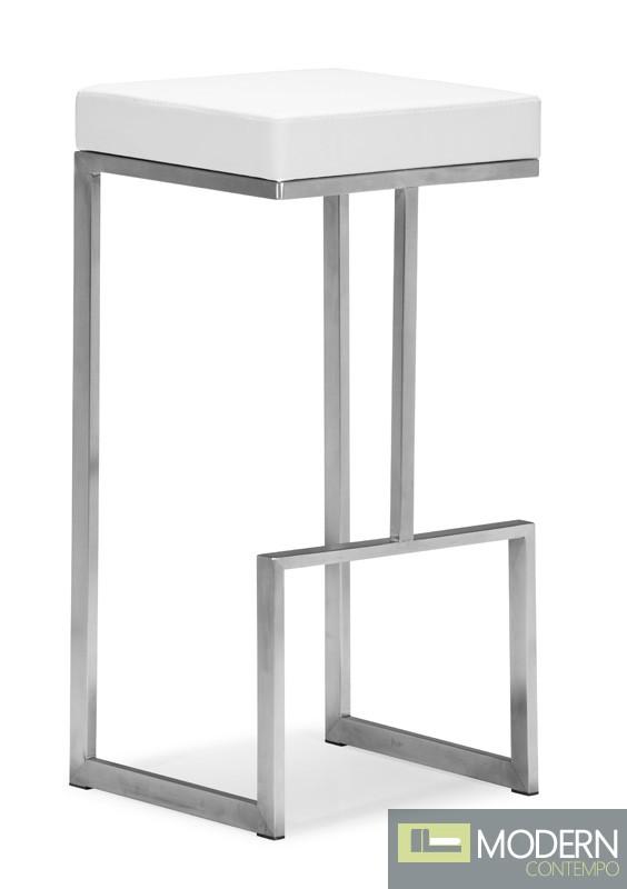 Dame Bar Chair White - Set of 2