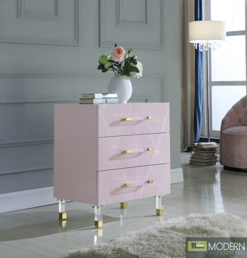 Irene Side Table pink
