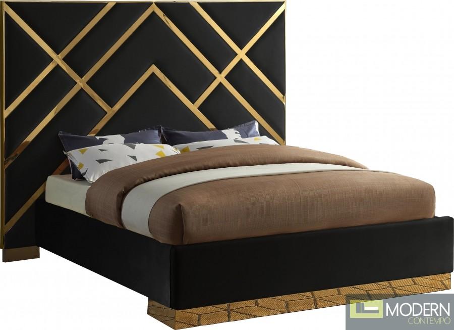 Valerie Velvet Bed
