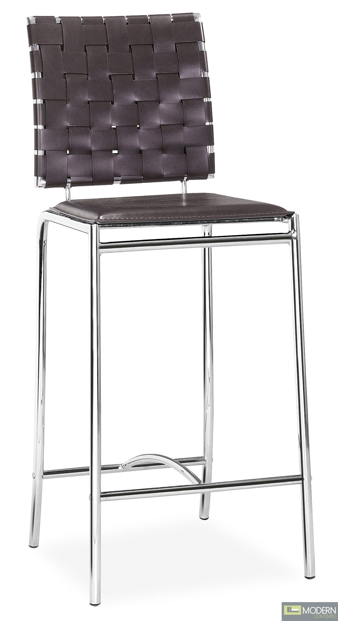 Criss Cross Counter Chair Espresso