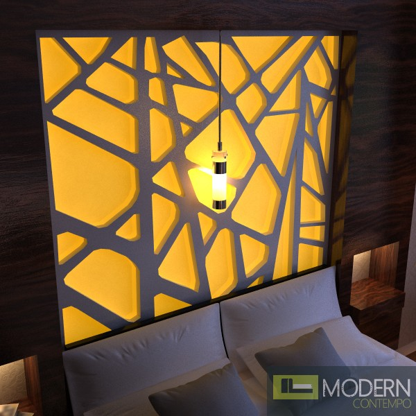 Modern Design Led Lit 3d Wall Panel Led 3dwalldecor Led