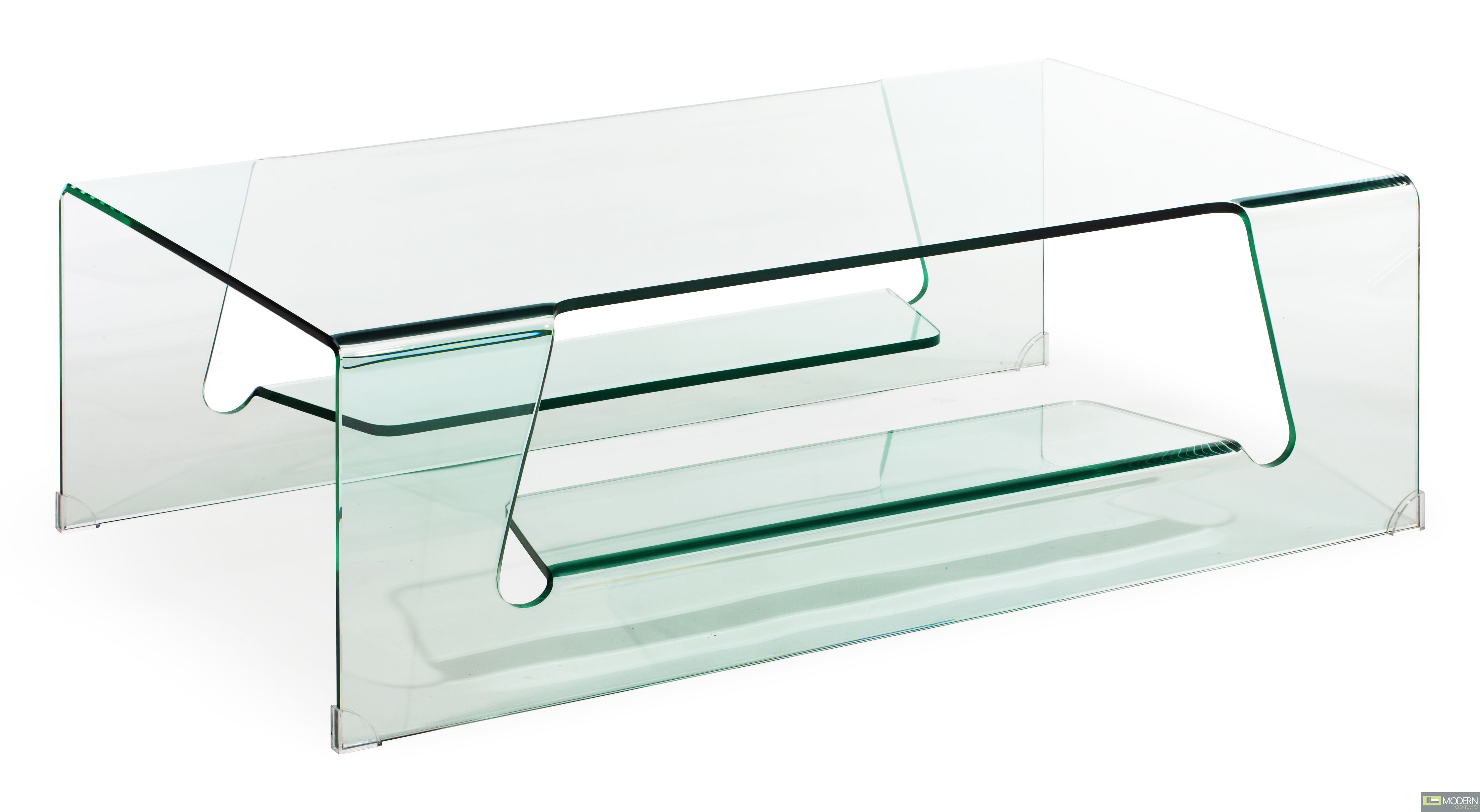 Airing Coffee Table Clear Glass